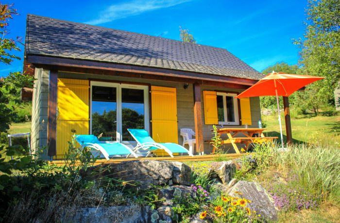Chalets en SPA: Auvergne vakantiepark